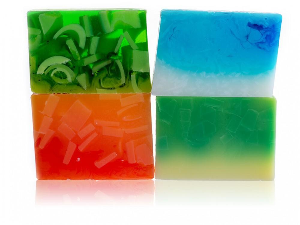 Set of 4 Cream Soaps