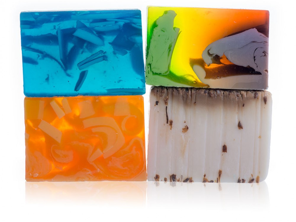 Set of 4 Mix Soaps #1