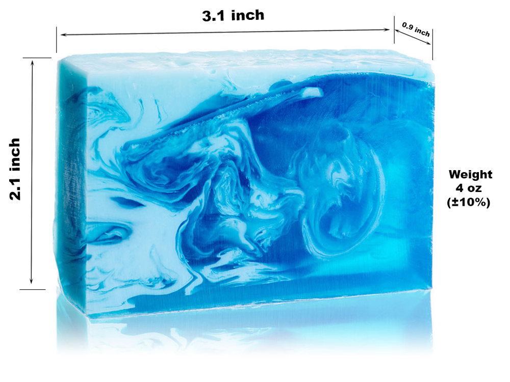 Glycerin Soap - Aquamarine