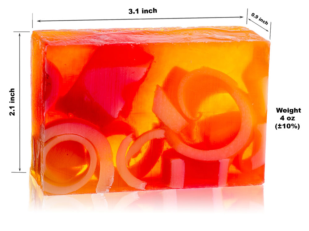 Glycerin Soap - Guava / Papaya