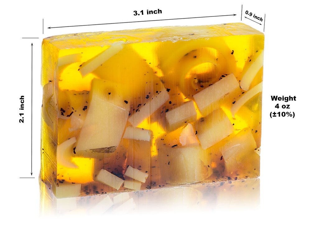 Glycerin Soap - Lemon / Tea Flower