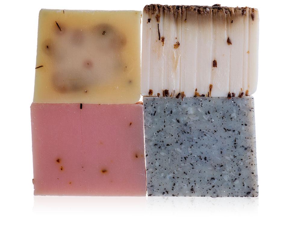 Set of 4 Oil Soaps