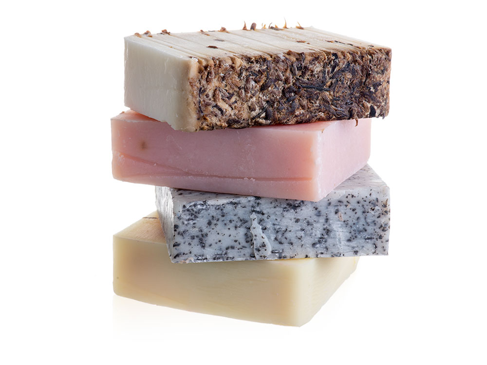 Set of 4 Oil Soaps