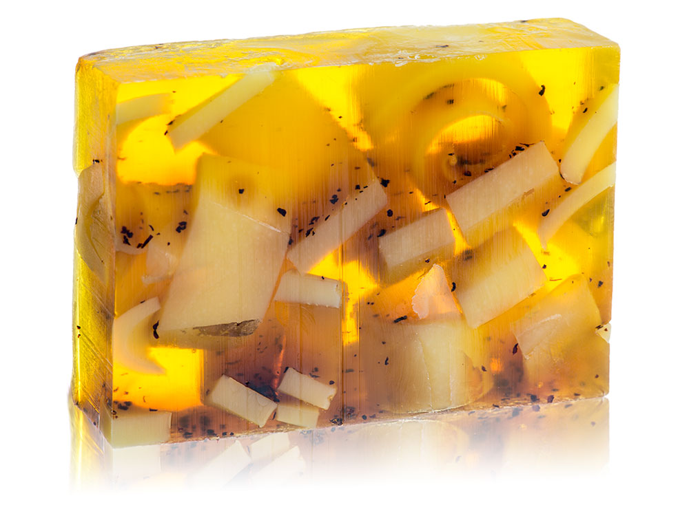 Glycerin Soap - Lemon / Tea Flower (Discounted)