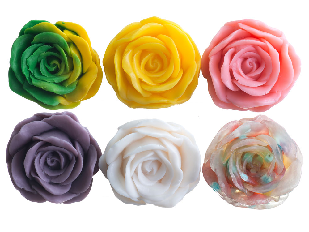 Soap Shape - Rose